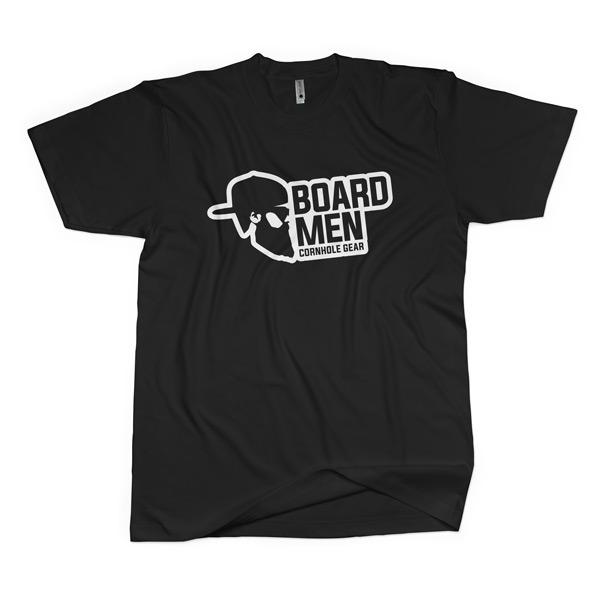Black Tshirt Front Boardmen
