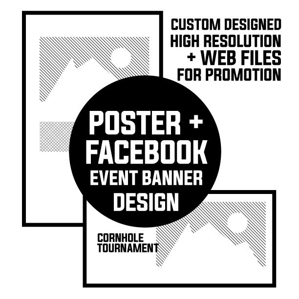 Poster + Facebook Banner – Graphic Design