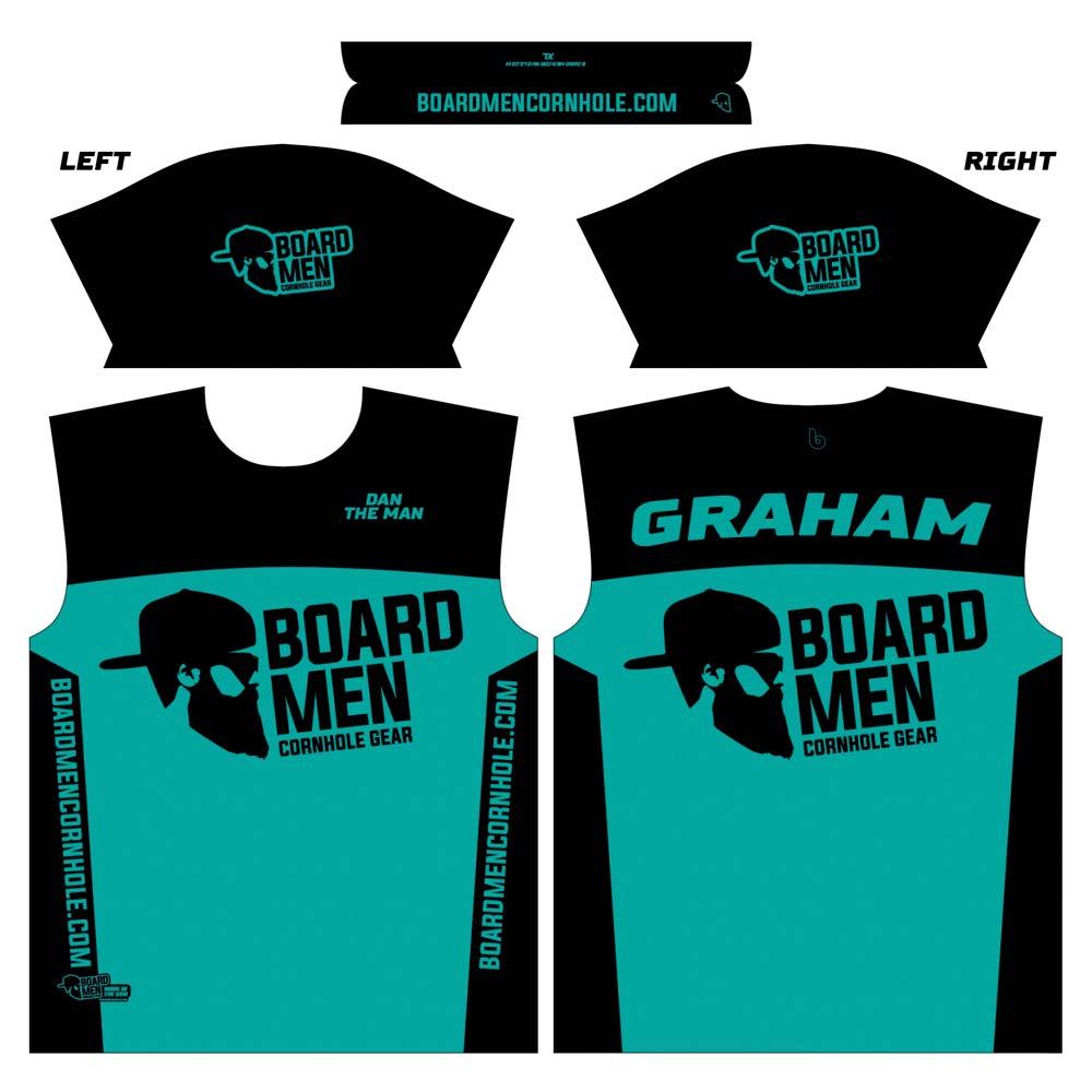 board men cornhole player jerseys  u2013 customized